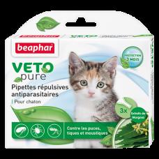 Beaphar Veto pure от паразитов для котят,3 пипетки.