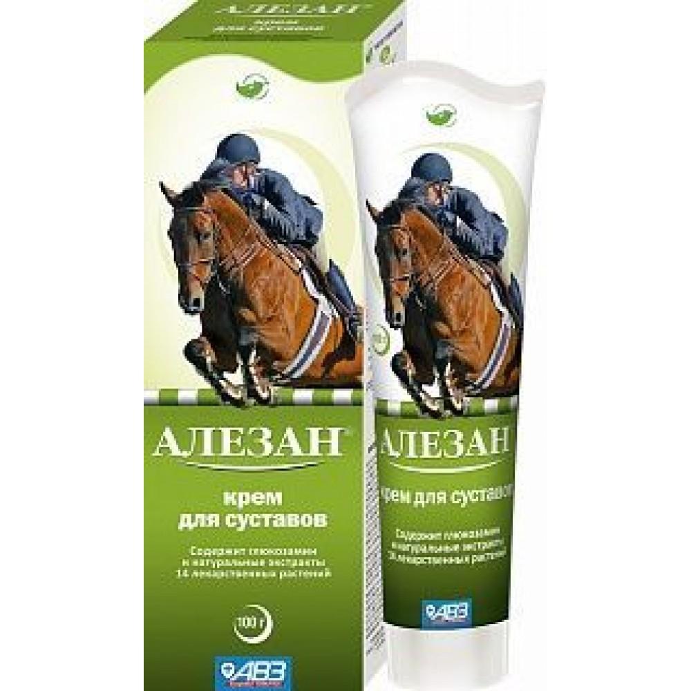 Алезан крем для суставов для лошадей и собак,100 мл.
