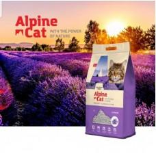 Alpine cat,комкующийся наполнитель с ароматом лаванды,5 л.