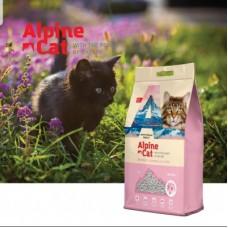 Alpine cat,комкующийся наполнитель с ароматом сакуры,5 л.