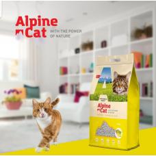 Alpine cat,комкующийся наполнитель с ароматом цитруса,5 л.