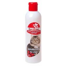 БиоВакс,шампунь инсектицидный для кошек с экстрактом далматской ромашки и маслом чайного дерева,200 мл.