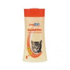 Доктор ZOO,шампунь антипаразитарный для котят,250 мл.