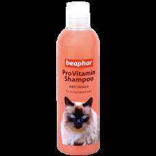 Beaphar ProVitamin Shampoo Anti Tangle,шампунь от колтунов для кошек,250 мл.