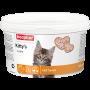Beaphar Kitty*s Junior+Biotin,сердечки с биотином для котят,уп.1000 таблеток