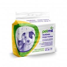 PetMil,пеленки 60*40 см.,уп.30 шт.
