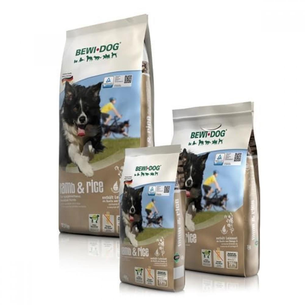 Bewi Dog Lamb&Rice,сухой корм для взрослых собак с чувствительным пищеварением с ягненком и рисом,уп.12.5 кг.