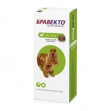Bravecto,жевательная таблетка для собак весом 10-20кг.,500 мг.