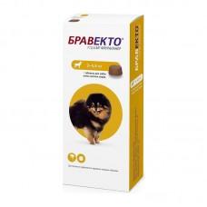 Bravecto,жевательная таблетка для собак весом 2-4,5 кг.,112,5 мг.
