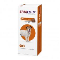 Bravecto,жевательная таблетка для собак весом 4,4-10кг.,250 мг.