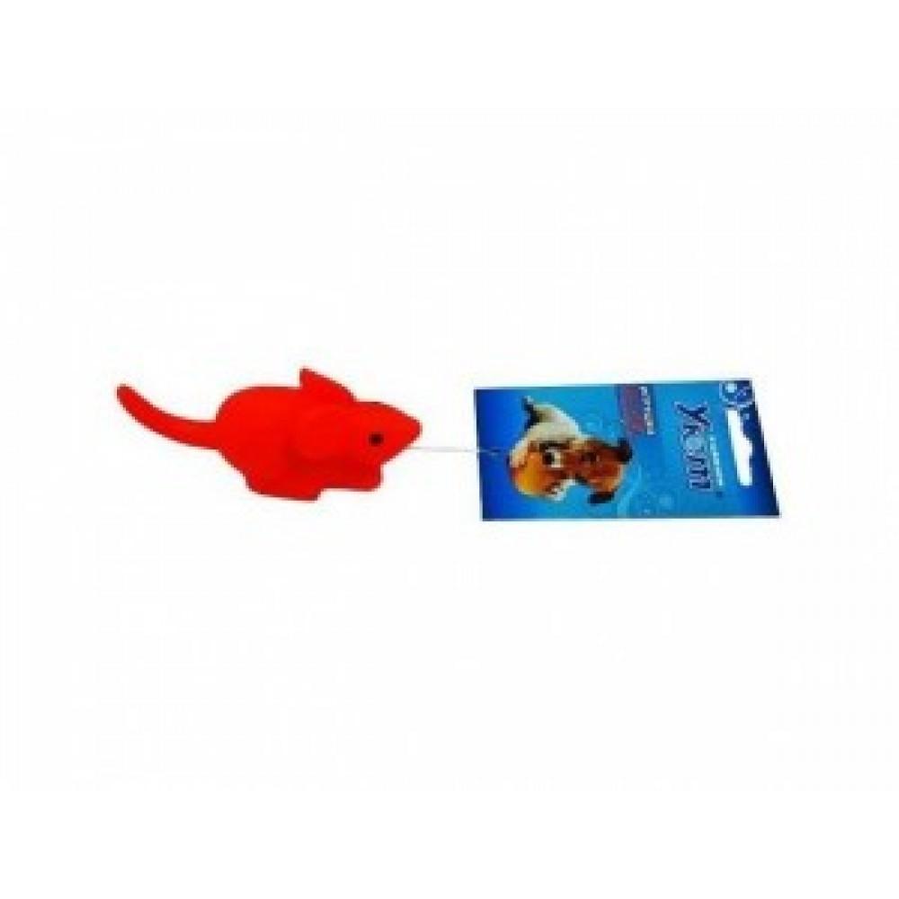 ЕвроПродукт УЮТ,мышь виниловая,цвета в ассортименте,9*3,5 см.