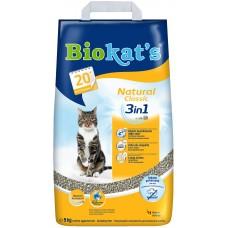 Biokat's Natural комкующийся наполнитель,уп.5 кг.