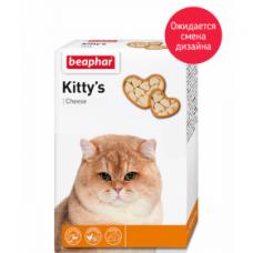 Beaphar Kitty*s Cheese,витаминные сердечки с сыром,уп.180 таблеток