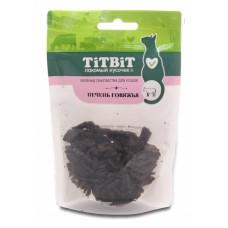 Titbit Вяленые лакомства для кошек Печень говяжья 40г