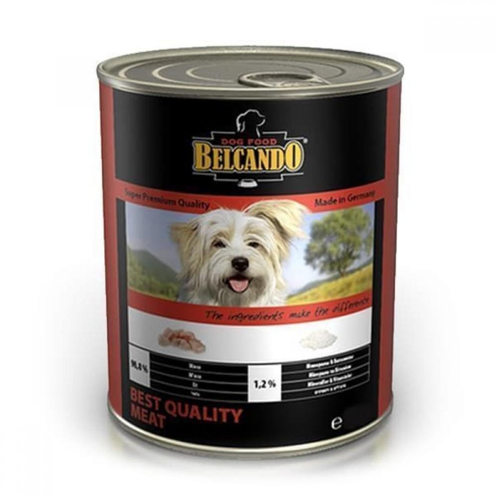 Belcando Best Quality Meat,влажный корм для собак с мясом,банка 400 гр.