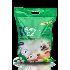 Betty Cat,комкующий наполнитель для кошачьего туалета с ароматом яблока,10л.(8 кг.)