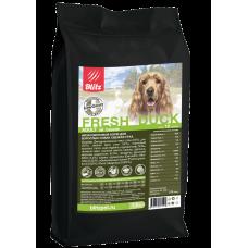 BLITZ ADULT FRESH DUCK низкозерновой корм для взр. собак Свежая Утка 12 кг
