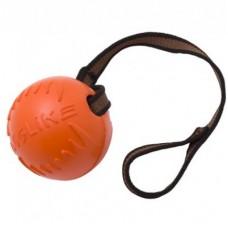 Doglike,мяч с лентой большой,D=10см,оранжевый