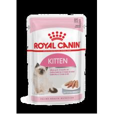 Royal Canin Kitten Instinctive Loaf,полнорационный корм для котят от 4 месяцев в паштете, уп.12*85 гр.
