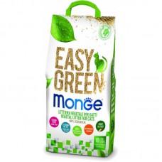 MONGE EASY GREEN наполнитель для кошек , рептилий, грызунов 10л