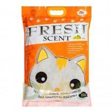 Fresh Scent комкующийся наполнитель с ароматом манго, уп.10л(8 кг.)