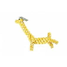 N1 Грейфер в форме жирафа, желто-белый, 22 см