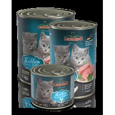 Leonardo Kitten Poultry Cans,мусс для котят с птицей,банка 400 гр.