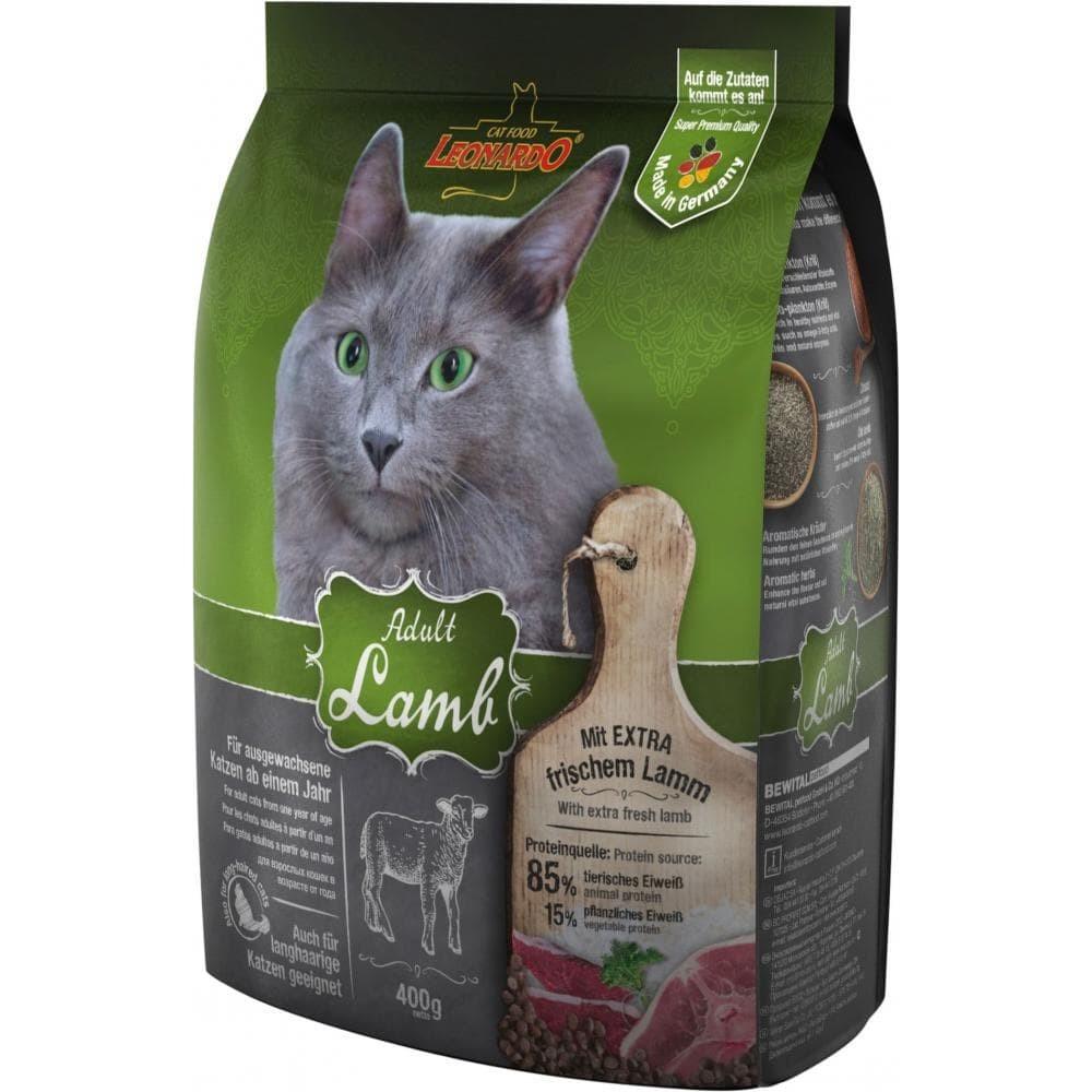 Leonardo Adult Sensitive Lamb&Rice,сухой корм для чувствительных кошек с ягненком и рисом,уп.2 кг.