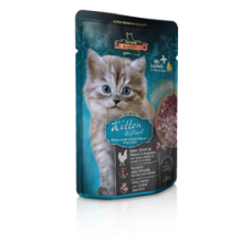 Leonardo Kitten Poultry Pouch,мусс для котят с птицей,пауч 85 гр.