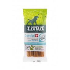 TitBit ДЕНТАЛ+ Снек с мясом кролика для щенков средних и крупных пород