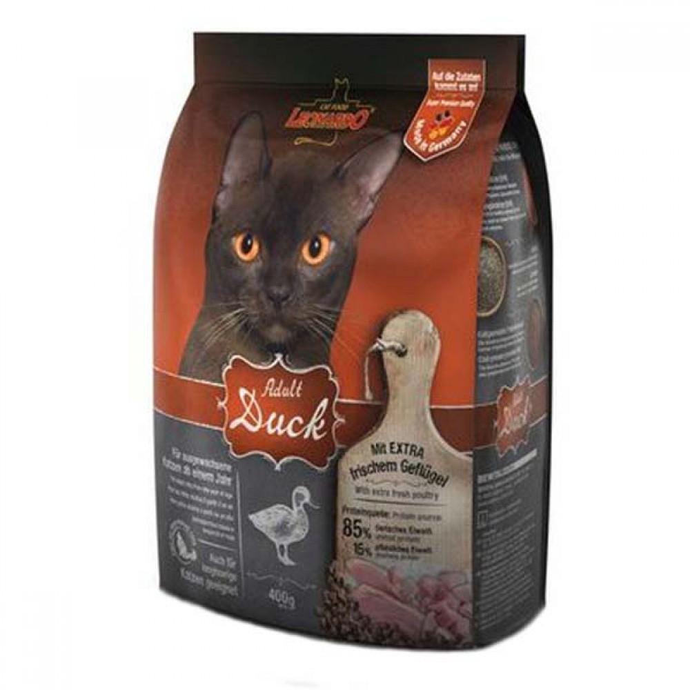 Leonardo Adult Duck&Rise Sensitive,сухой корм для чувствительных кошек с уткой и рисом,уп.2 кг.