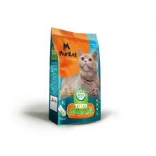 Murkel Tofu,комкующийся,соевый наполнитель,без запаха,уп.2,6кг(6л.)