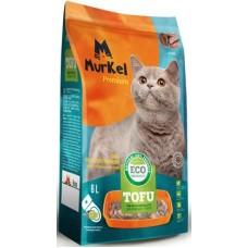Murkel Tofu,комкующийся,соевый наполнитель,с ароматом кофе,уп.2,6кг(6л.)