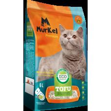 Murkel Tofu,комкующийся,соевый наполнитель,молоко,уп.2,6кг(6л.)