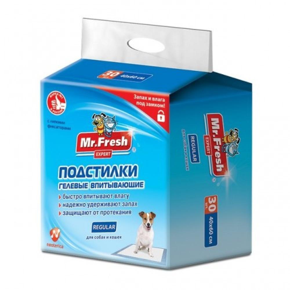 Mr.Fresh Expert Regular,пеленки,40*60 см.,уп.30 шт.