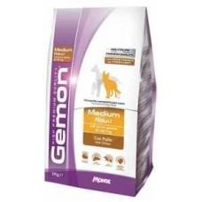 Gemon Dog Medium Adult,сухой корм для средних пород собак с курицей,уп.3 кг.