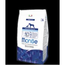 Monge Dog All Breeds Adult Hypoallergenic Salmon&Tune,сухой корм для взрослых собак гипоалергенный с лососем и тунцом,уп.2,5 кг.