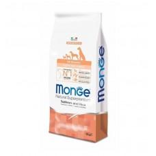 Monge Dog All Breeds Puppy&Junior Salmone&Rice,сухой корм для щенков и юниоров с лососем и рисом,уп.2,5 кг.