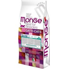 Monge Cat Breeder Hairball,сухой корм для вывода шерсти у кошек,уп.10 кг.