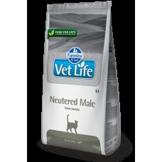 Farmina Vet Life Neutered Male,корм для взрослых кастрированных котов,400 гр.
