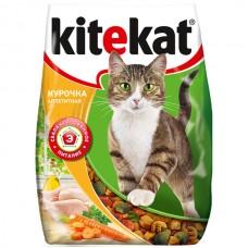 Kitekat сухой корм для кошек с курочкой аппетитной,уп.1,9 кг.