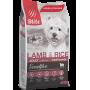 Blitz Sensitive Adult Small Breeds Lamb & Rice,корм для взрослых собак мелких пород с ягненкоми рисом,уп.2 кг.