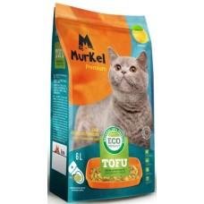 Murkel Tofu,комкующийся,соевый наполнитель,с ароматом лаванды,уп.2,6кг(6л.)
