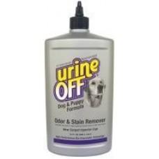 UrineOff Dog&Puppy Injector,средство для уничтожения запаха и пятен собачьей мочи,473 мл.