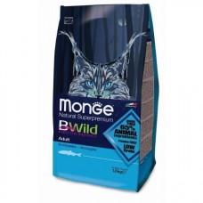 Monge BWild Adult Anchovies,корм для взрослых кошек с анчоусами,уп.1,5 кг.