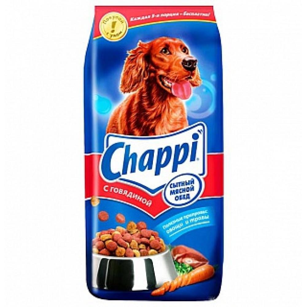 Chappi сухой корм для собак с говядиной,уп.15 кг.