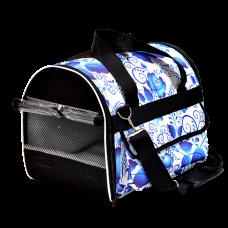 Зооник,сумка-переноска зимняя с прозрачным клапаном,390*290*275 мм.