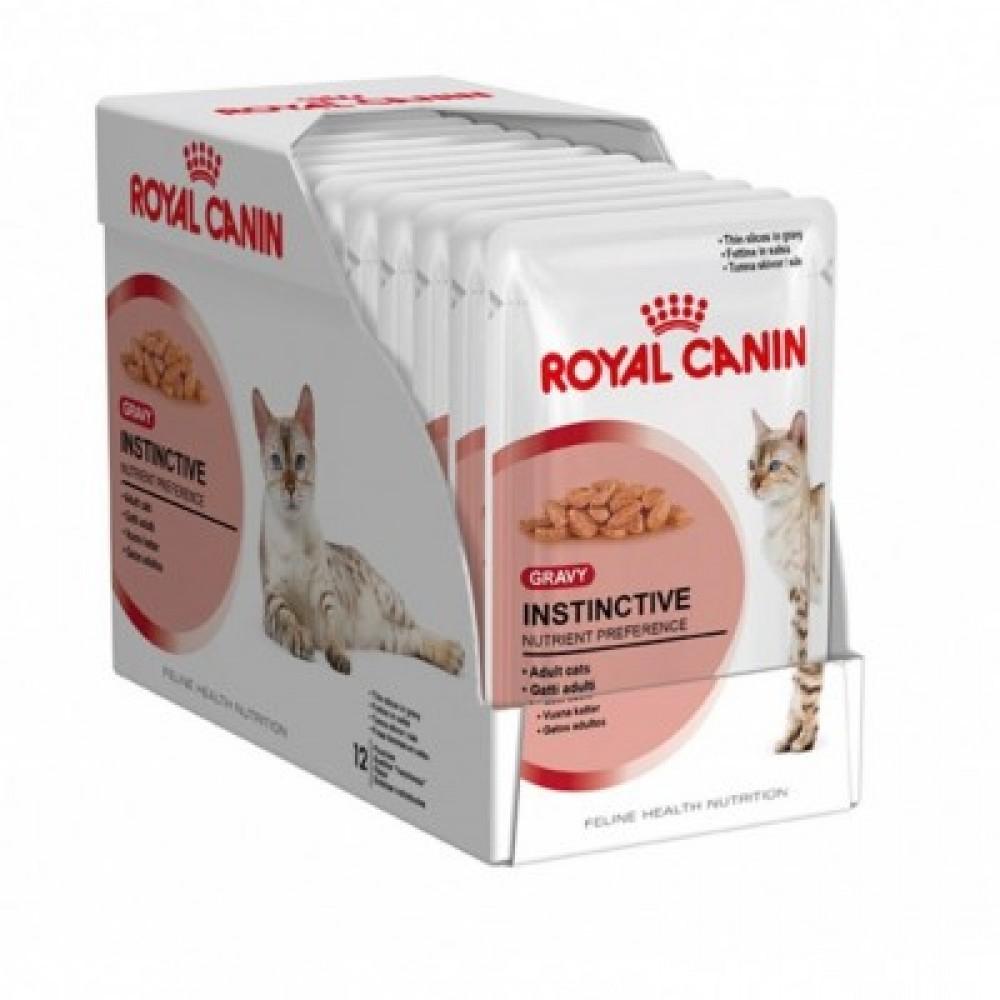 Royal Canin Instinctive pork free,полнорационный корм со свининой для кошек, уп. 12шт.* 85 гр