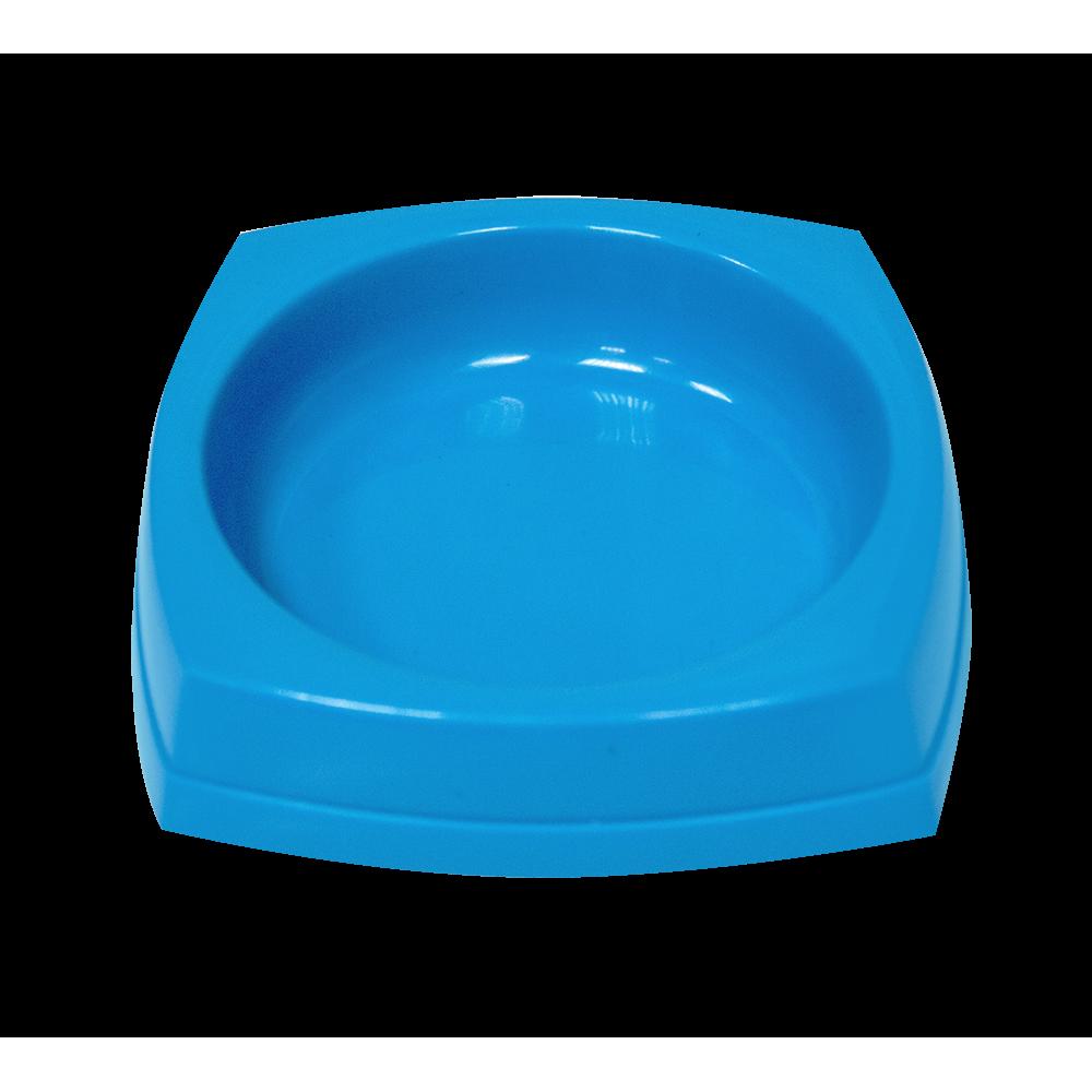 Зооник,миска квадратная пластмассовая,0,2 л.