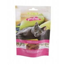 TitBit Вяленые лакомства соломка куриная для кошек,40 гр.005163